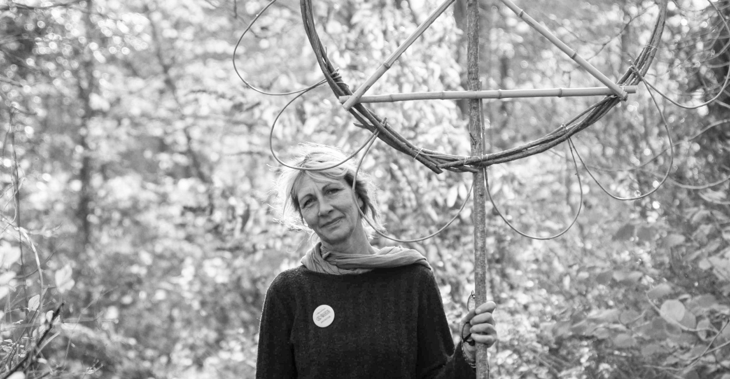 Female member Extinction Rebellion Lewes