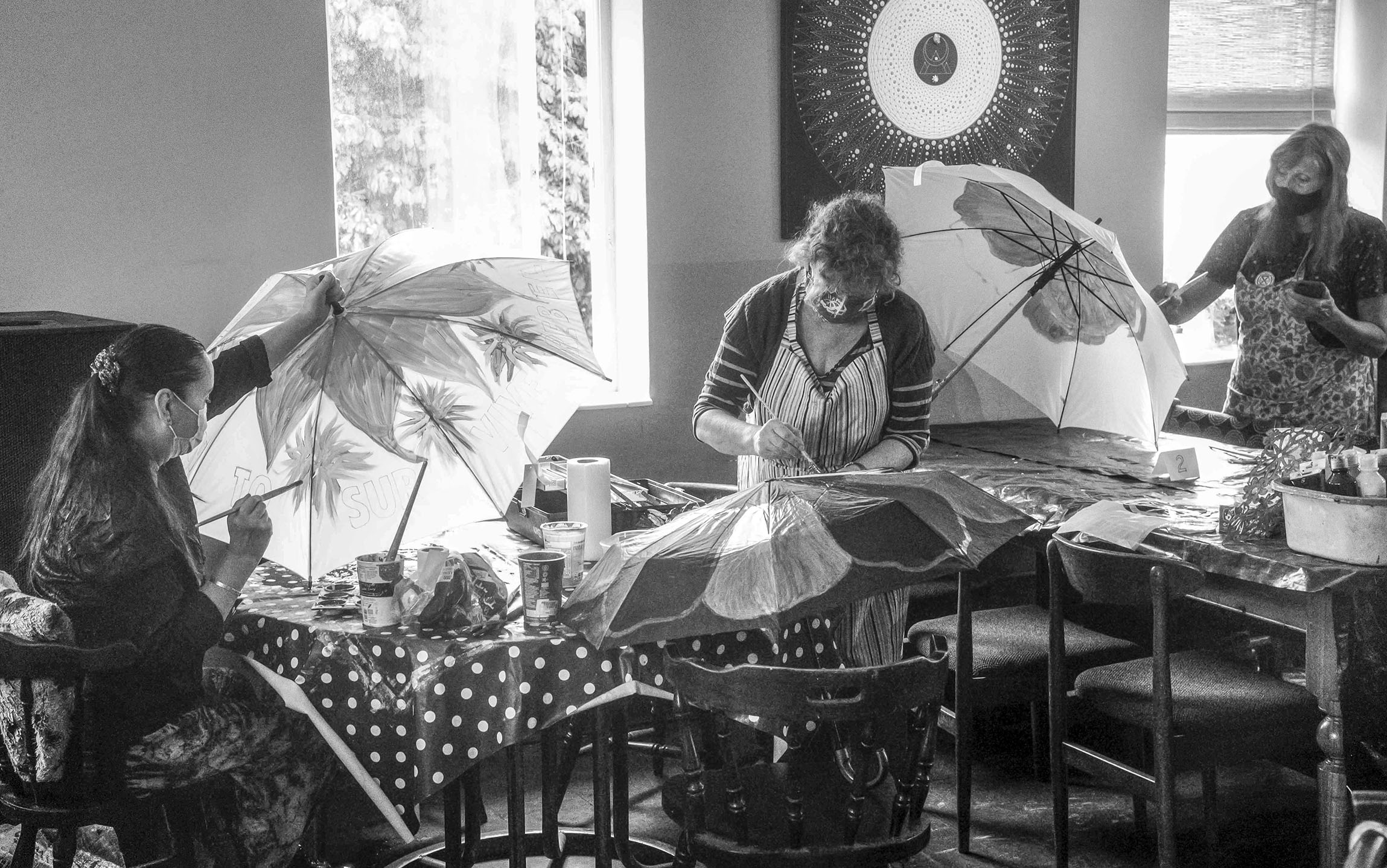 Umbrella Painting Workshop XR Lewes